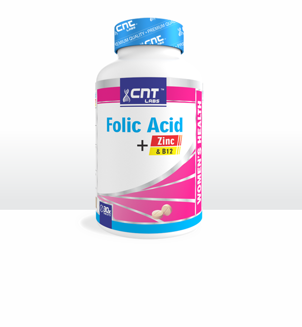 Folic Acid + Zinc & B12