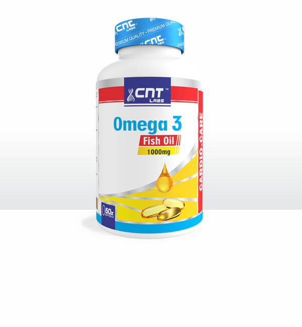 Omega 3 Fish Oil 1000mg - 60